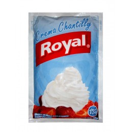 Crema chantilly Royal  rinde un litro 100gr