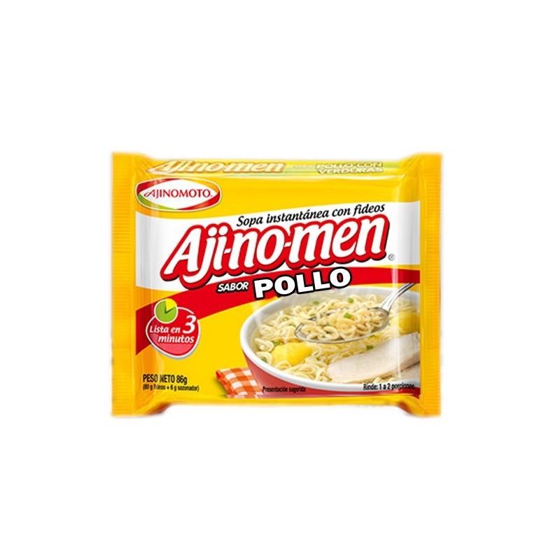 Ajinomen caldo de pollo con fideos 1 ó 2 porciones