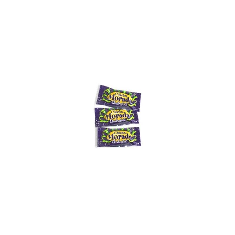 bolsa Caramelos de chicha morada  100und