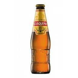 Cerveza Cuzqueña rubia en botella 33cl