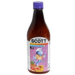 Huile Bacalao Scott - Fruits tropicaux 200ml