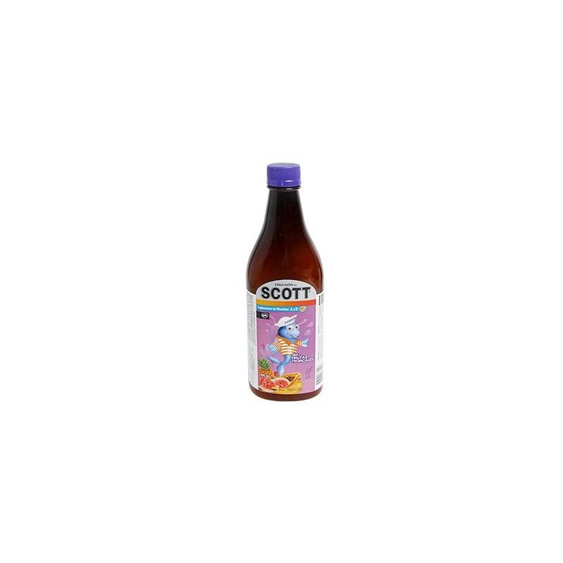 Aceite de Bacalao Scott Emulsion - Frutas tropicales 200ml