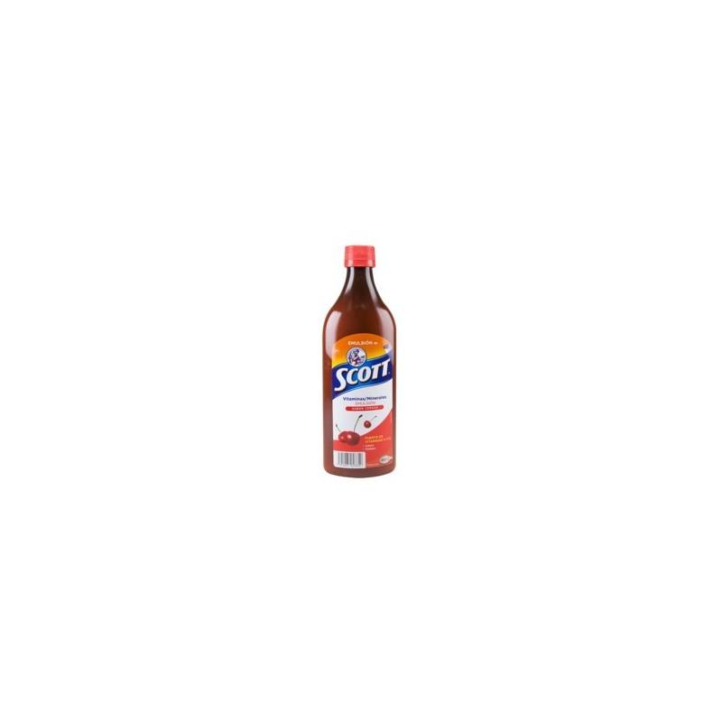 Aceite de Bacalao Scott Emulsion - Cereza 200ml