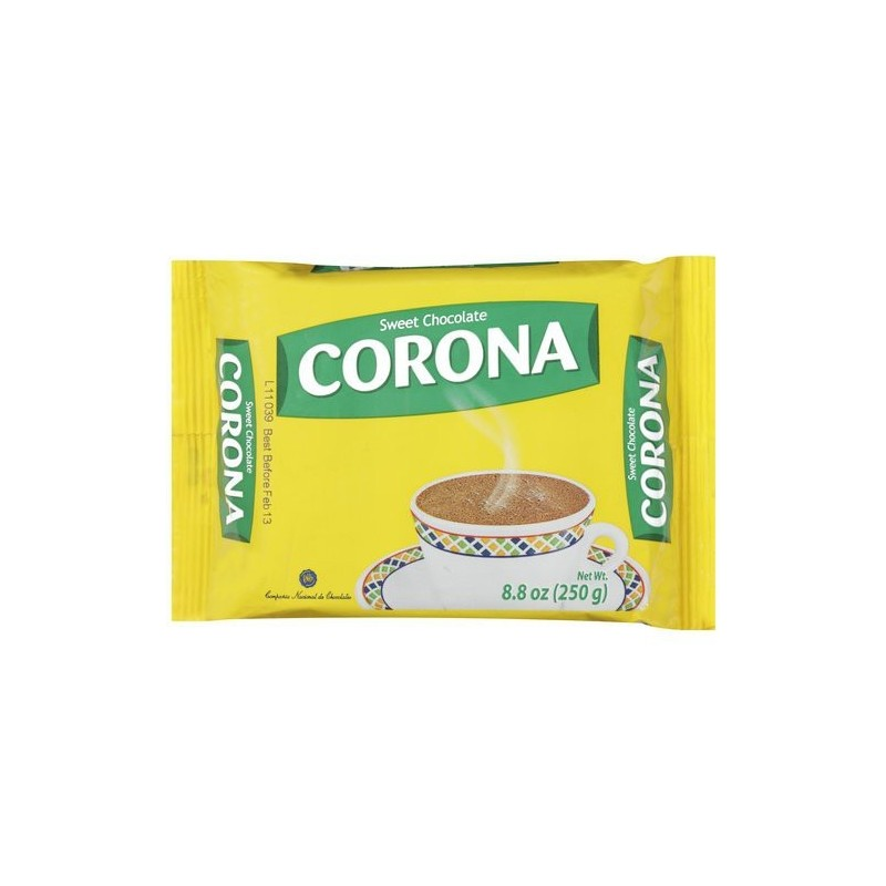 Chocolate Taza Corona 200gr