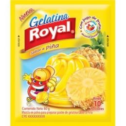 Gelatina Royal Piña 160gr