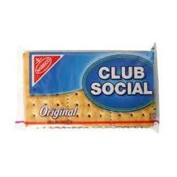 Galletas saladas Club Social  original   6 und