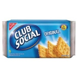 Galletas saladas Club Social  original   6 und