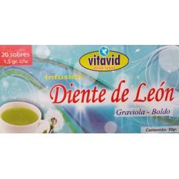 Thé Hepático Diente de León para el Higado 20und