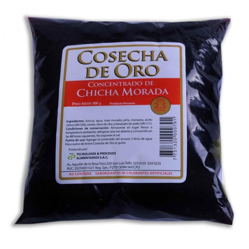Chicha Morada Concentrada Cosecha de Oro 500ml