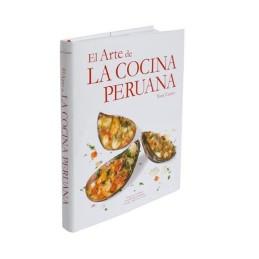 Libro El Arte de Cocina peruana de Tony Custer