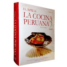 Libro El Arte de Cocina peruana  tomo 2 de Tony Custer