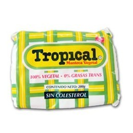 Manteca Vegetal Tropical 200g